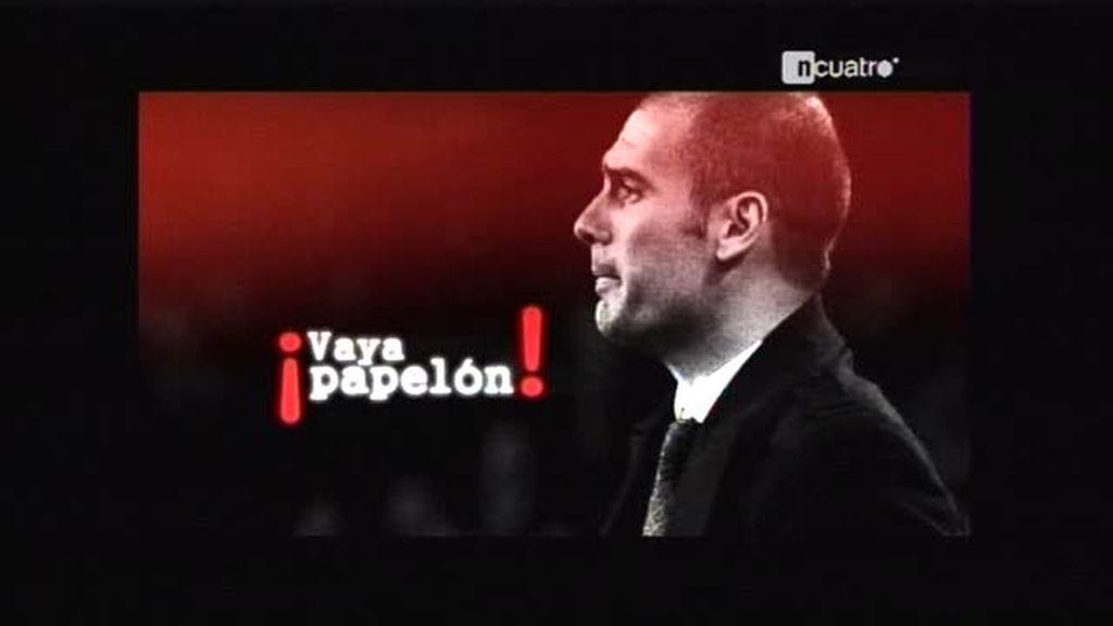 El papelón de Guardiola