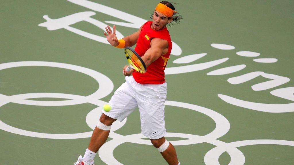 Primera medalla para el español Rafael Nadal