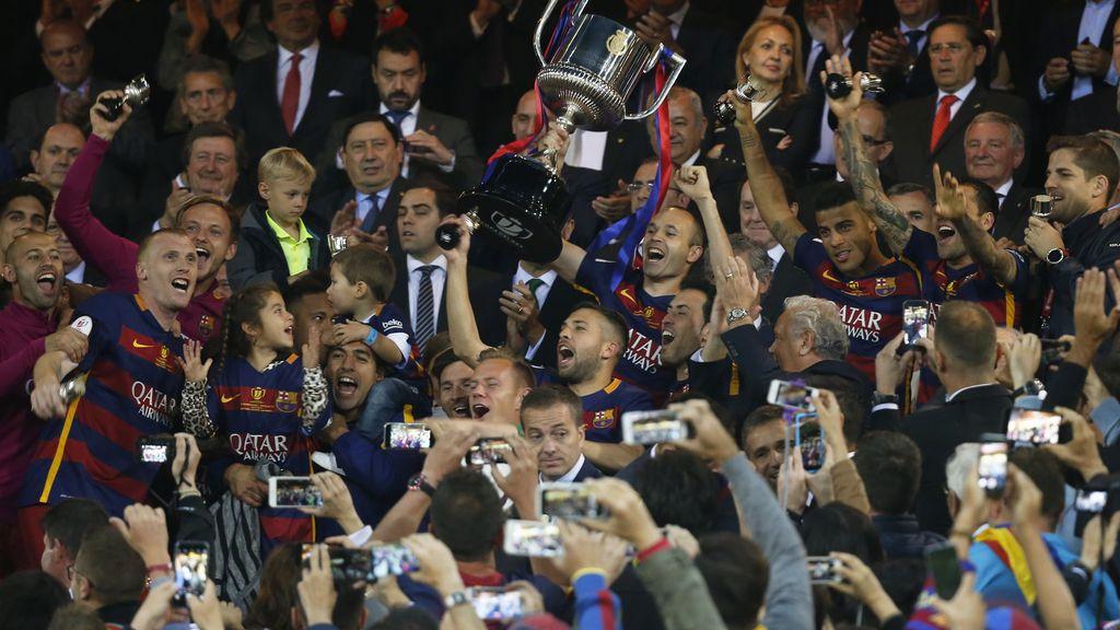 El FC Barcelona se lleva la Copa del Rey
