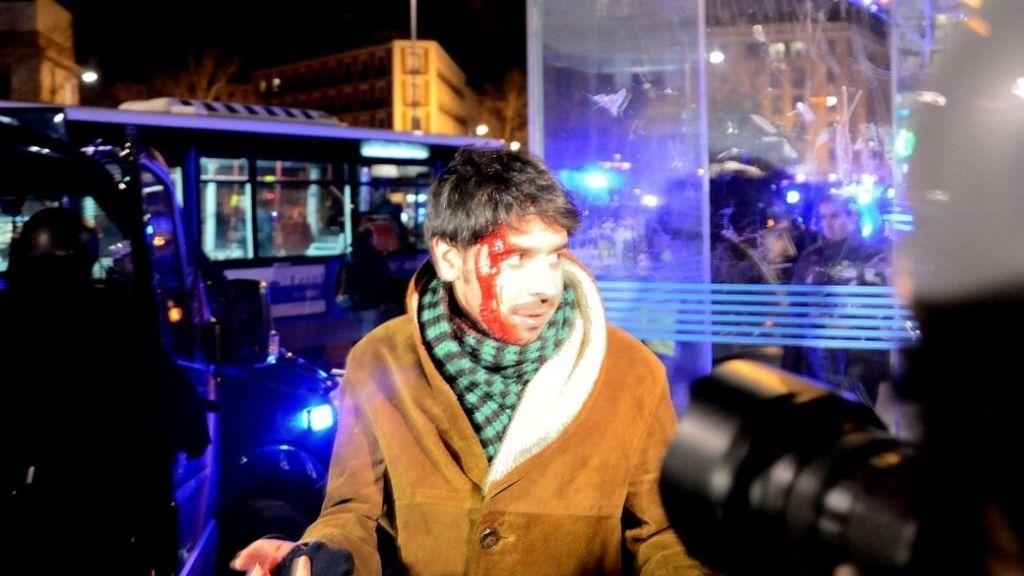 Disturbios en la 'Marea Ciudadana' de Madrid