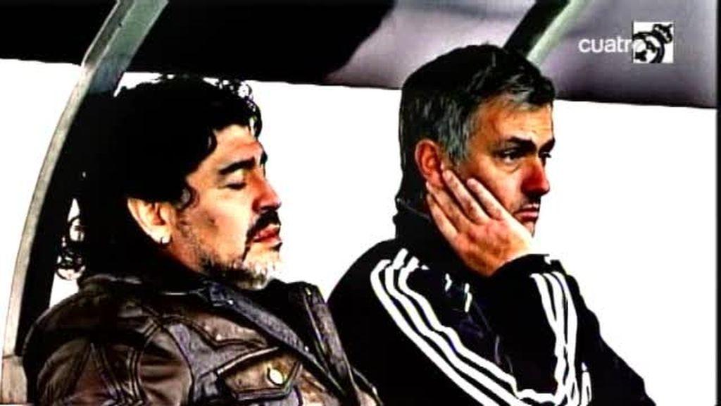 Mourinho ha seducido a Maradona
