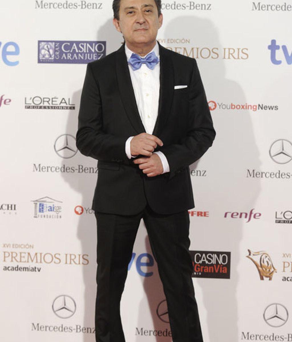 El actor de 'Aída', Mariano Peña, en el 'photocall'