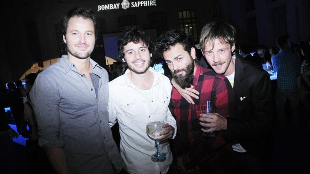 Fernando Andina, Javier Pereira, Arturo Turón y Eloy Azorín