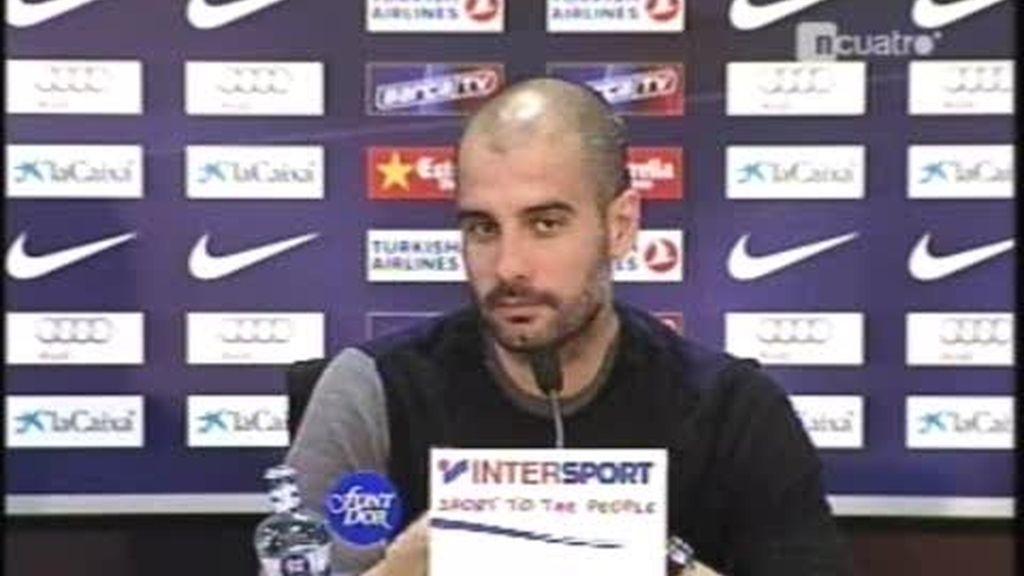 Guardiola: ?En el Bernabéu no se acaba el mundo?
