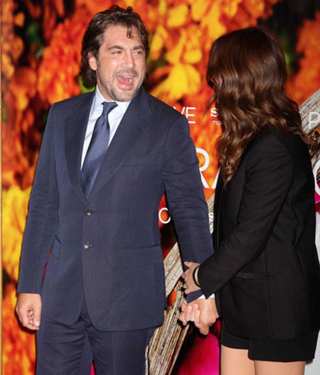 El buen rollito entre Bardem y Julia Roberts