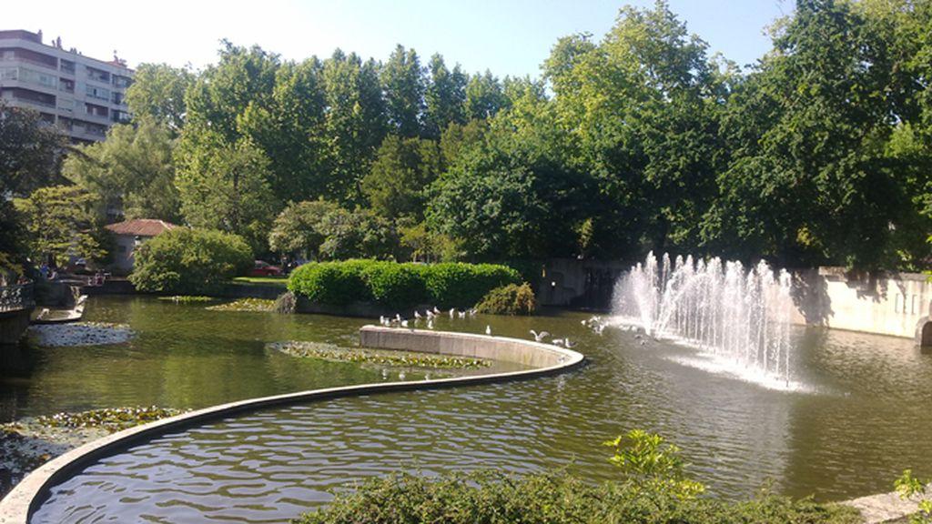 Parque de Castrelos en Vigo, Galicia