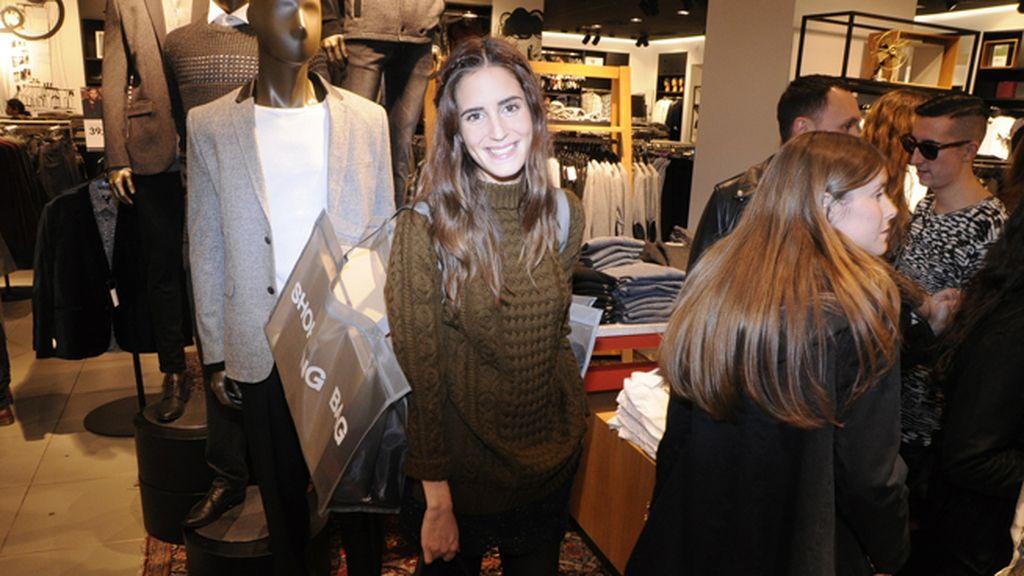 Gala González en la preventa de Isabel Marant para H&M