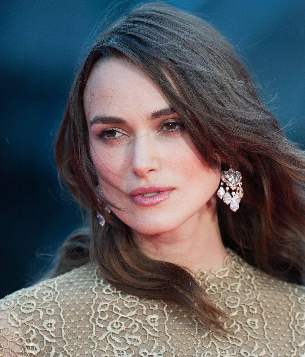 Keira Knightley en la premiere de The Imitation Game