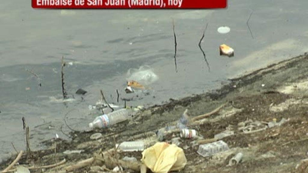 El Pantano de San Juan, cada vez más cerca de ser un vertedero