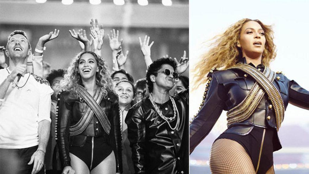 Beyoncé, la estrella de la noche con su vestuario homenaje a Michael Jackson