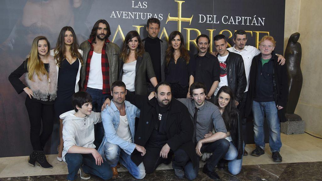 Aitor Luna llega a Telecinco con 'Las aventuras del capitán Alatriste'
