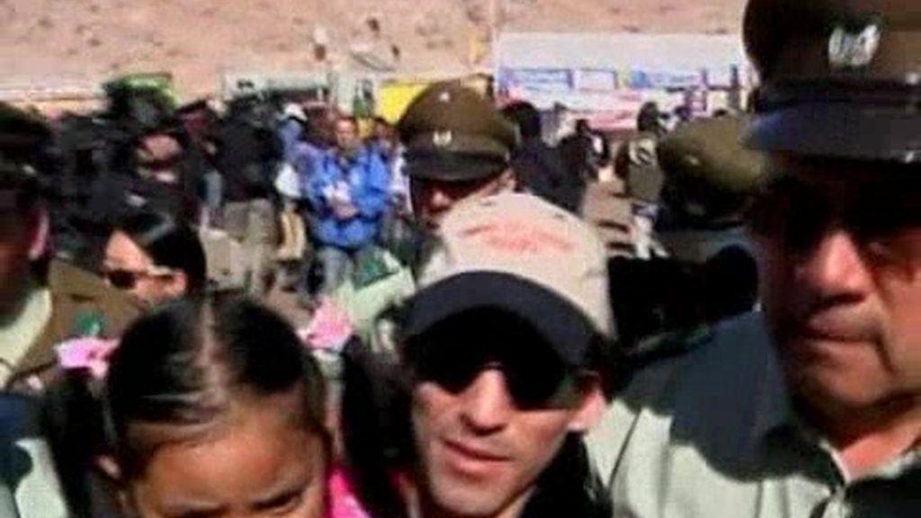 Algunos rescatados en Chile vuelven a la mina San José