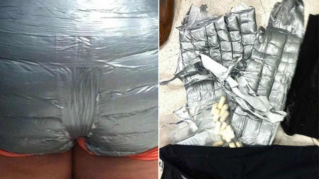 Arrestadas dos mujeres por llevar cocaína en su ropa interior