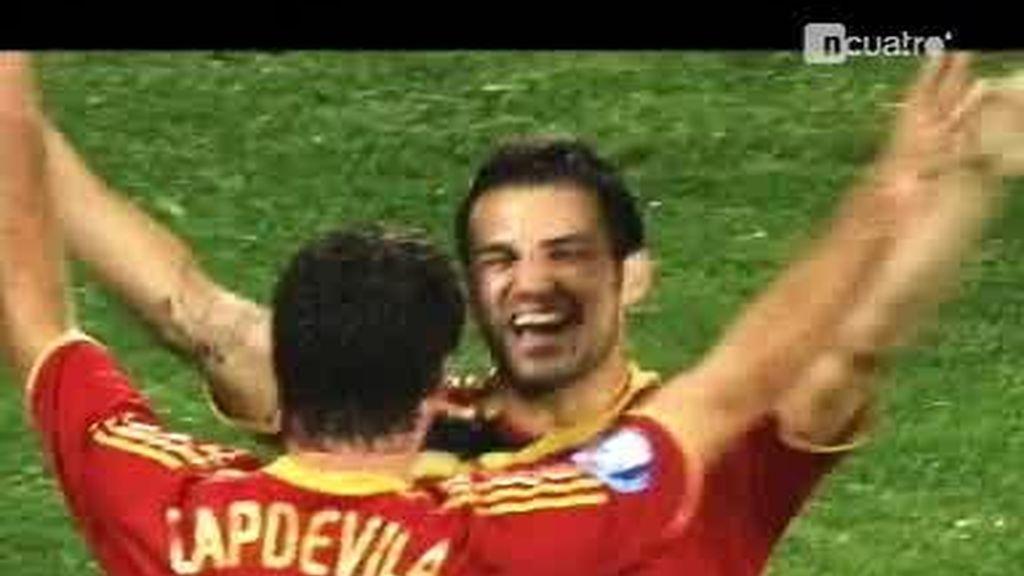 España, tercera clasificada de la Copa Confederaciones