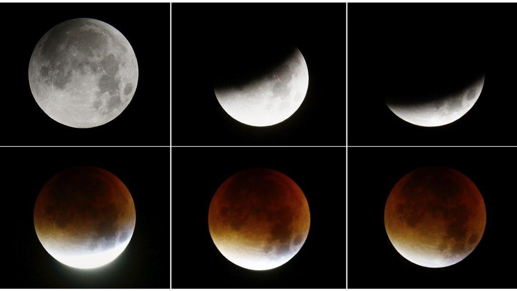 El eclipse de la Superluna
