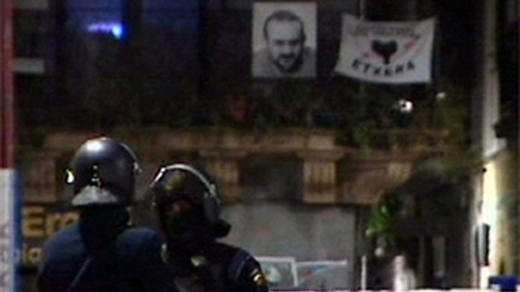 Operación policial en Hernani