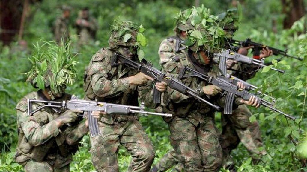 Entrenados para combatir a las FARC