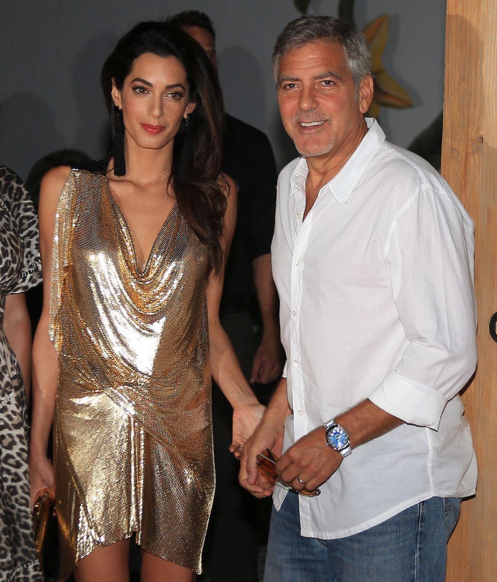 George Clooney y Amal Alamuddin, primer aniversario de bodas