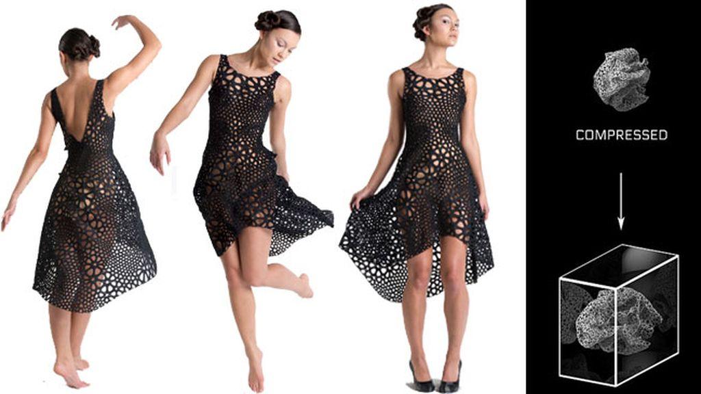 Vestido 4D