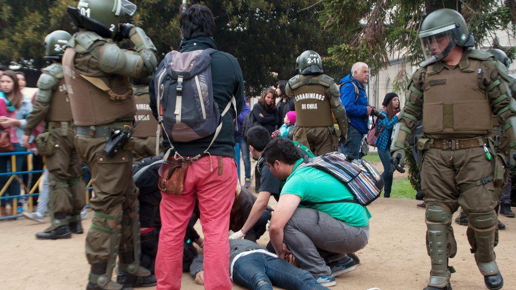 Dos estudiantes fallecidos en las protestas de Valparaíso