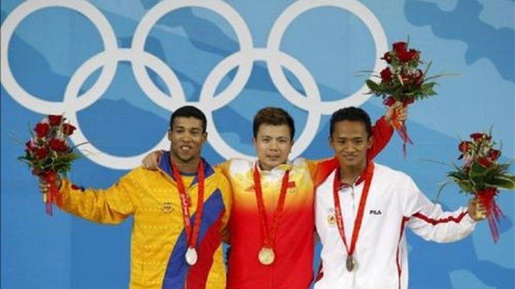 Salazar logra la medalla de plata para Colombia