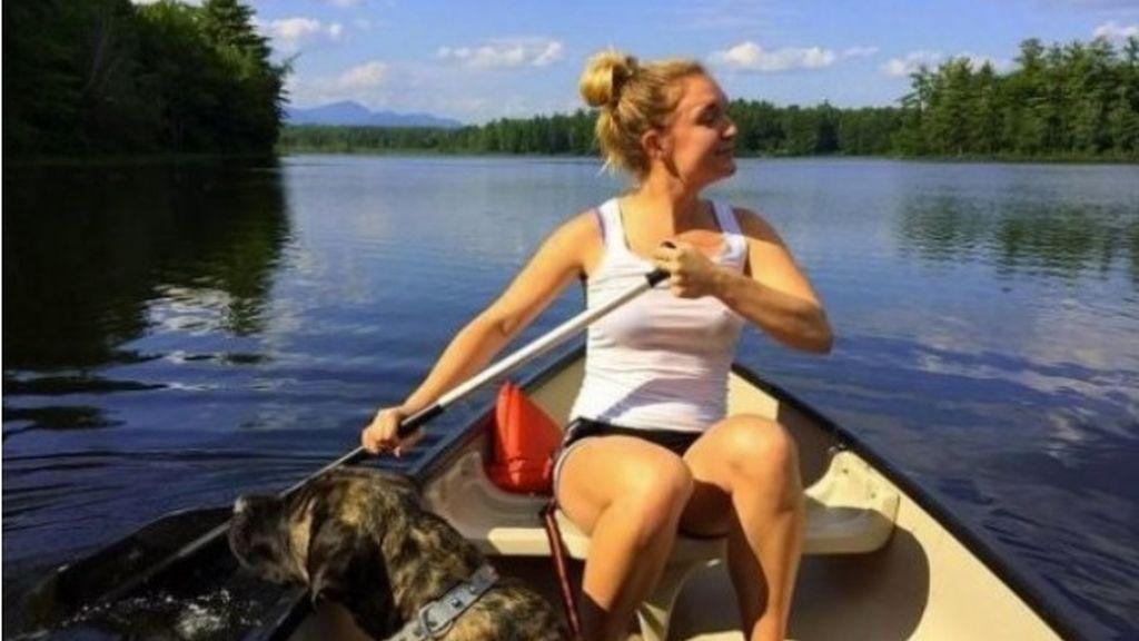 Montar en canoa