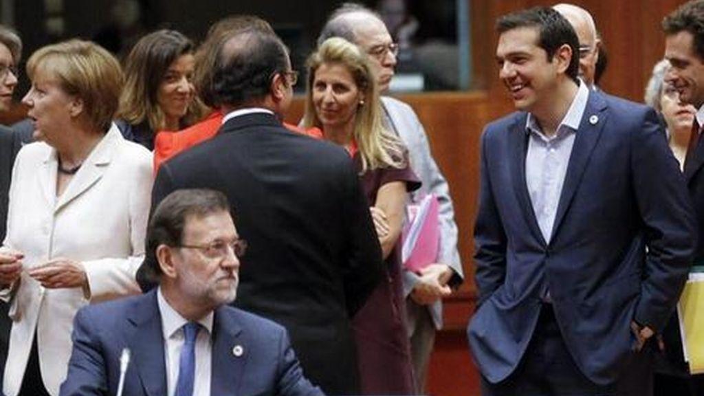 Mariano Rajoy, Eurogrupo, Angela Merkel, Alexis Tsipras