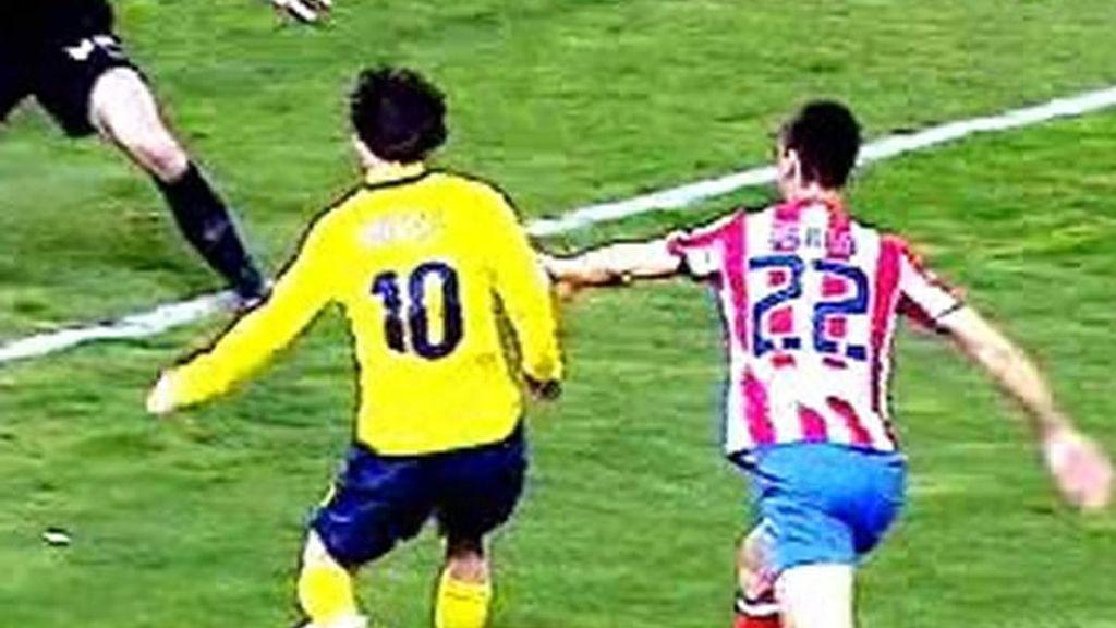 Messi y su obra del arte en el Calderón