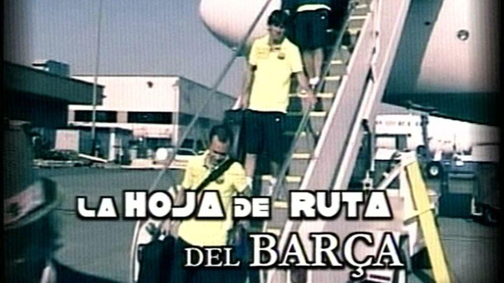 La hoja de ruta del Barça