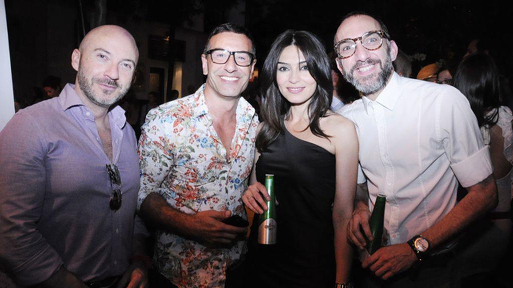 Miguel García, Abel Arana, Marta Fernández y Gus Esquivel