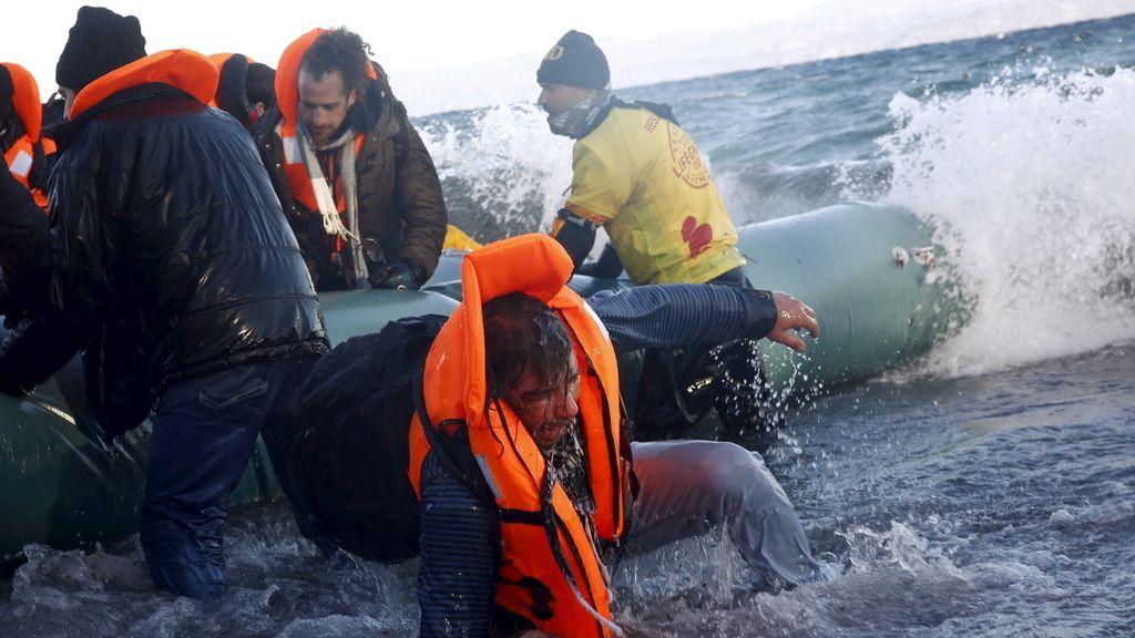 Un niño sirio de dos años ahogado, primera víctima del año en el Mediterráneo