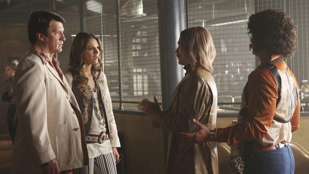 Los años 70 llegan a la comisaría de Castle y Beckett