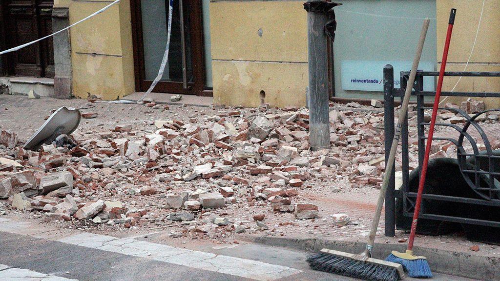 Numerosos daños materiales
