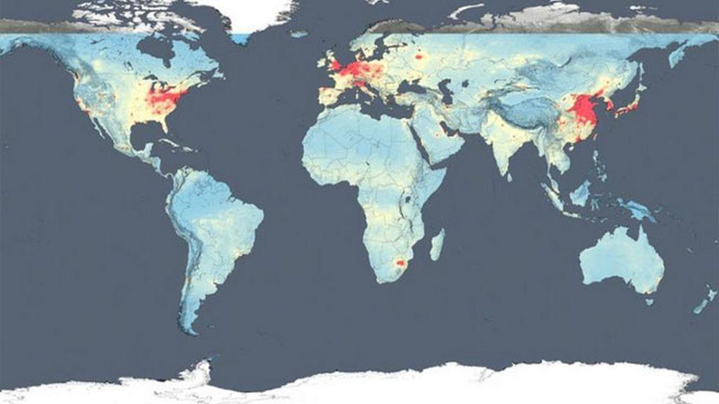 Los países más contaminados