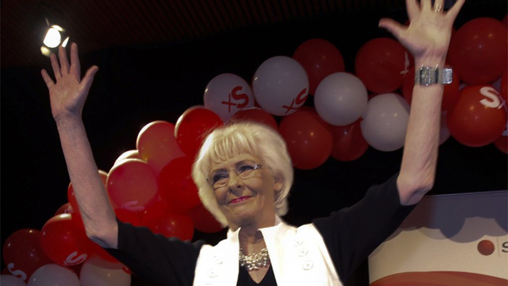 Johanna Sigurdardottir, vencedora en las elecciones de Islandia