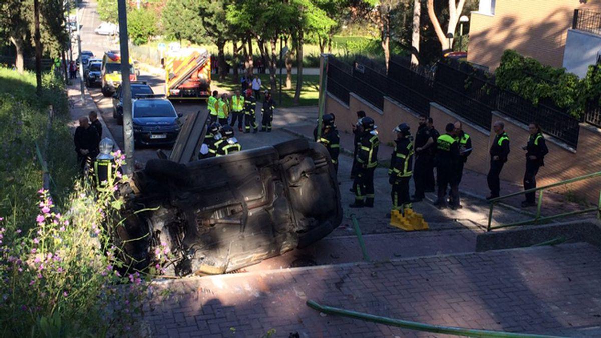 Accidente mortal en la Dehesa de la Villa de Madrid