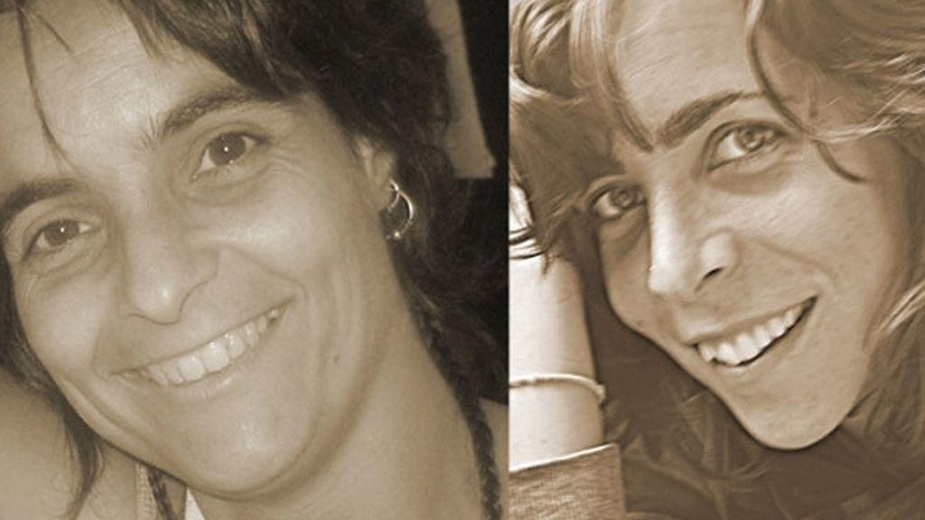 Montserrat Serra y Blanca Thibault