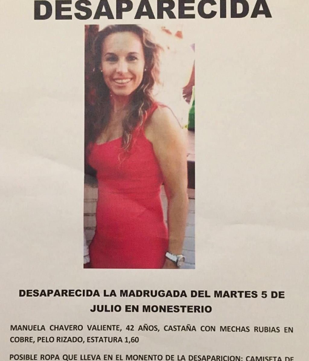 Manuela Chavero, desaparecida en Monesterio