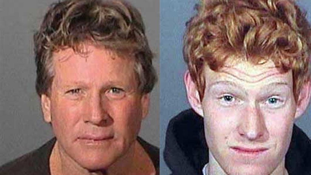 Ryan O'Neal y su hijo Redford