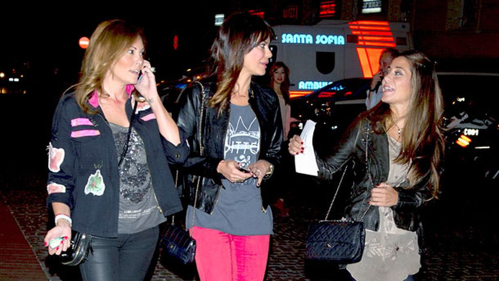 Las famosas se reunen en Madrid para disfrutar del concierto de JLO