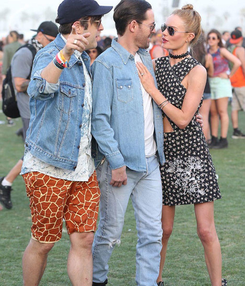 Kate Bosworth y su marido Michael Polish