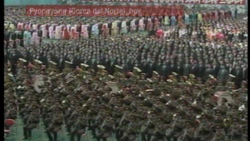 Corea del Norte honra a su futuro líder