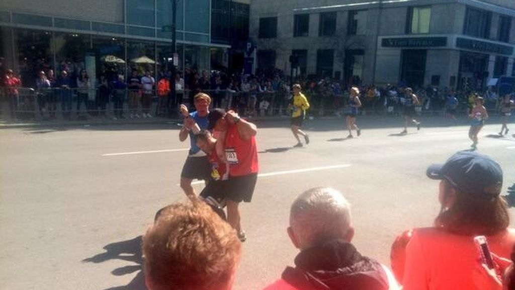 La ayuda del runner
