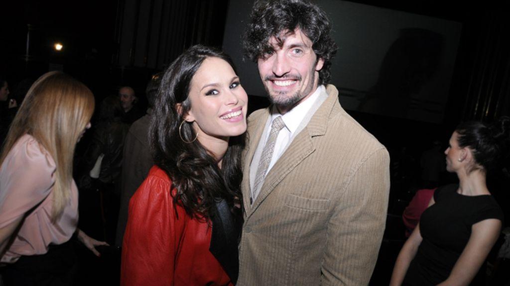 La pareja formada por Mireia Canalda y Felipe López