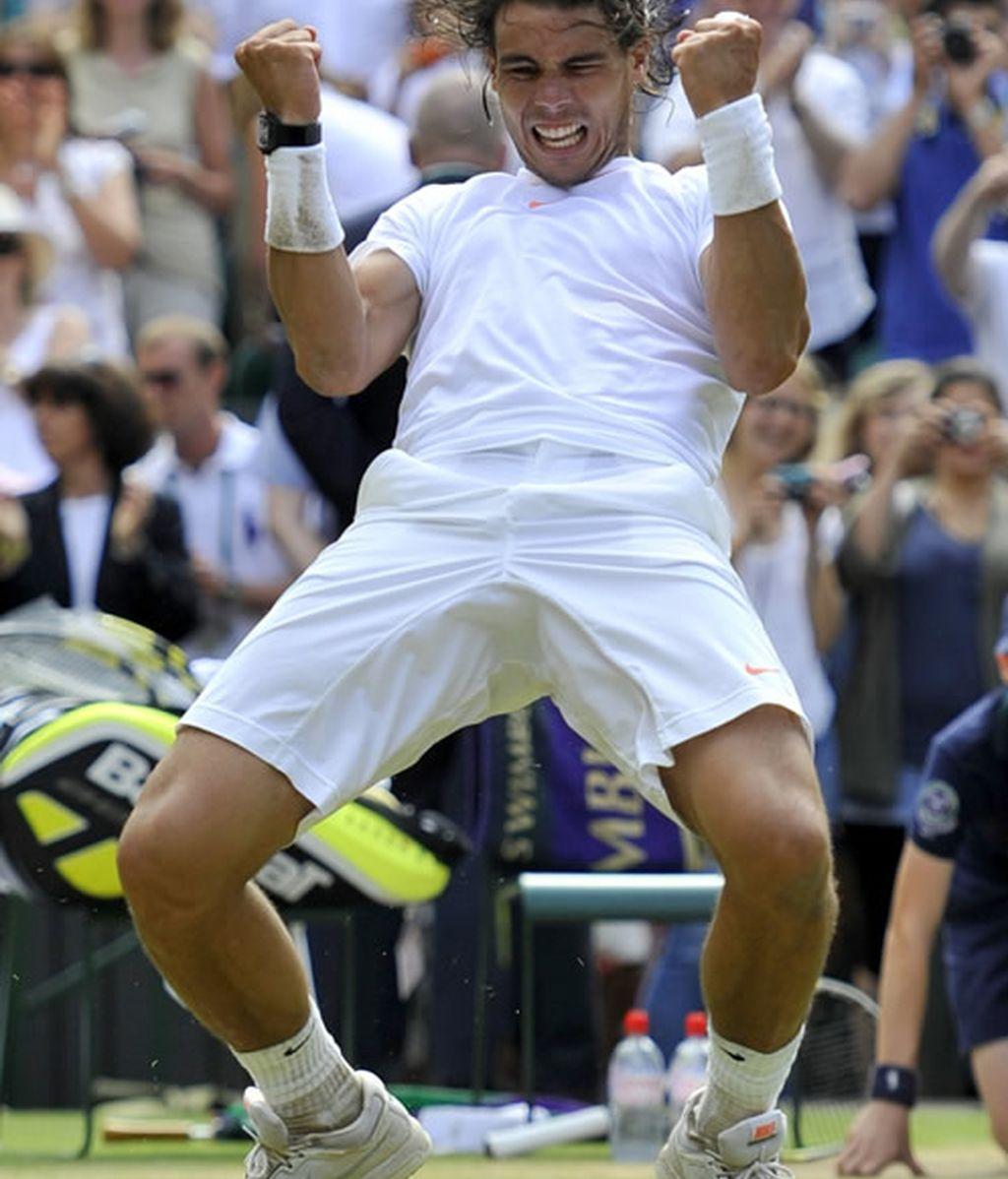 Nadal, campeón de Wimbledon 2010