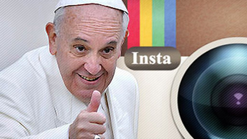 Franciscus, el nuevo perfil del Papa en Instagram
