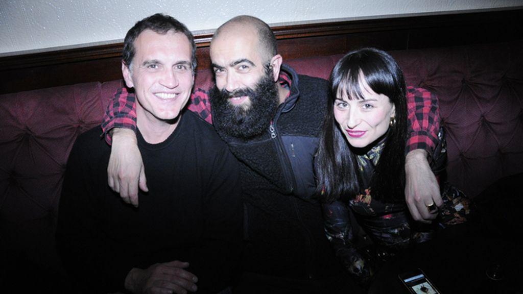 Javier, Carlos Díez y María Escoté