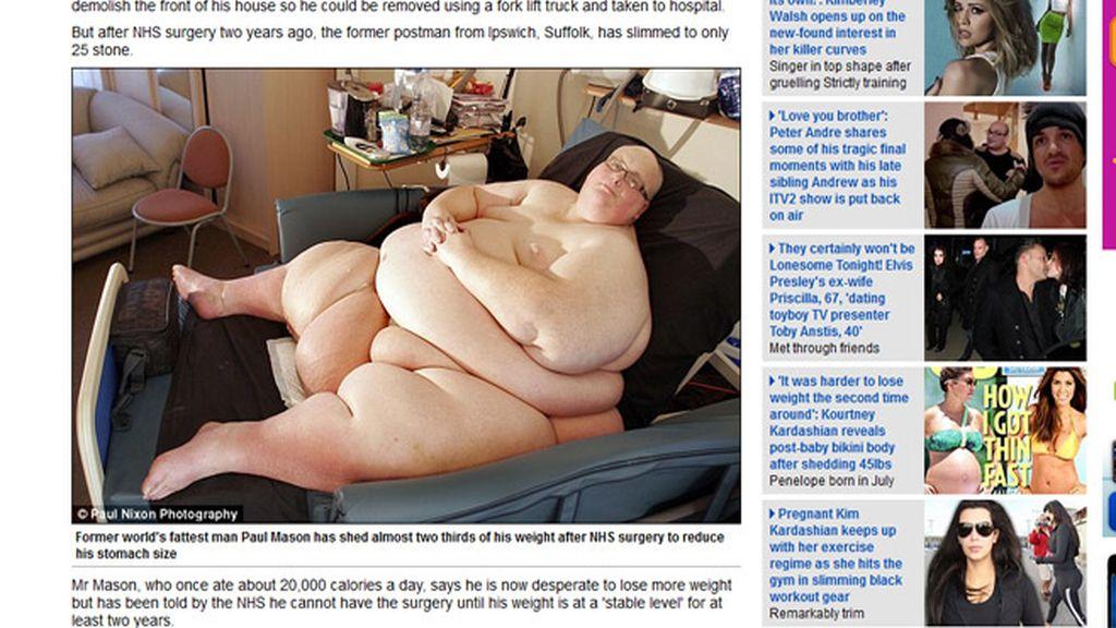 Pierde el trono de la gordura mundial