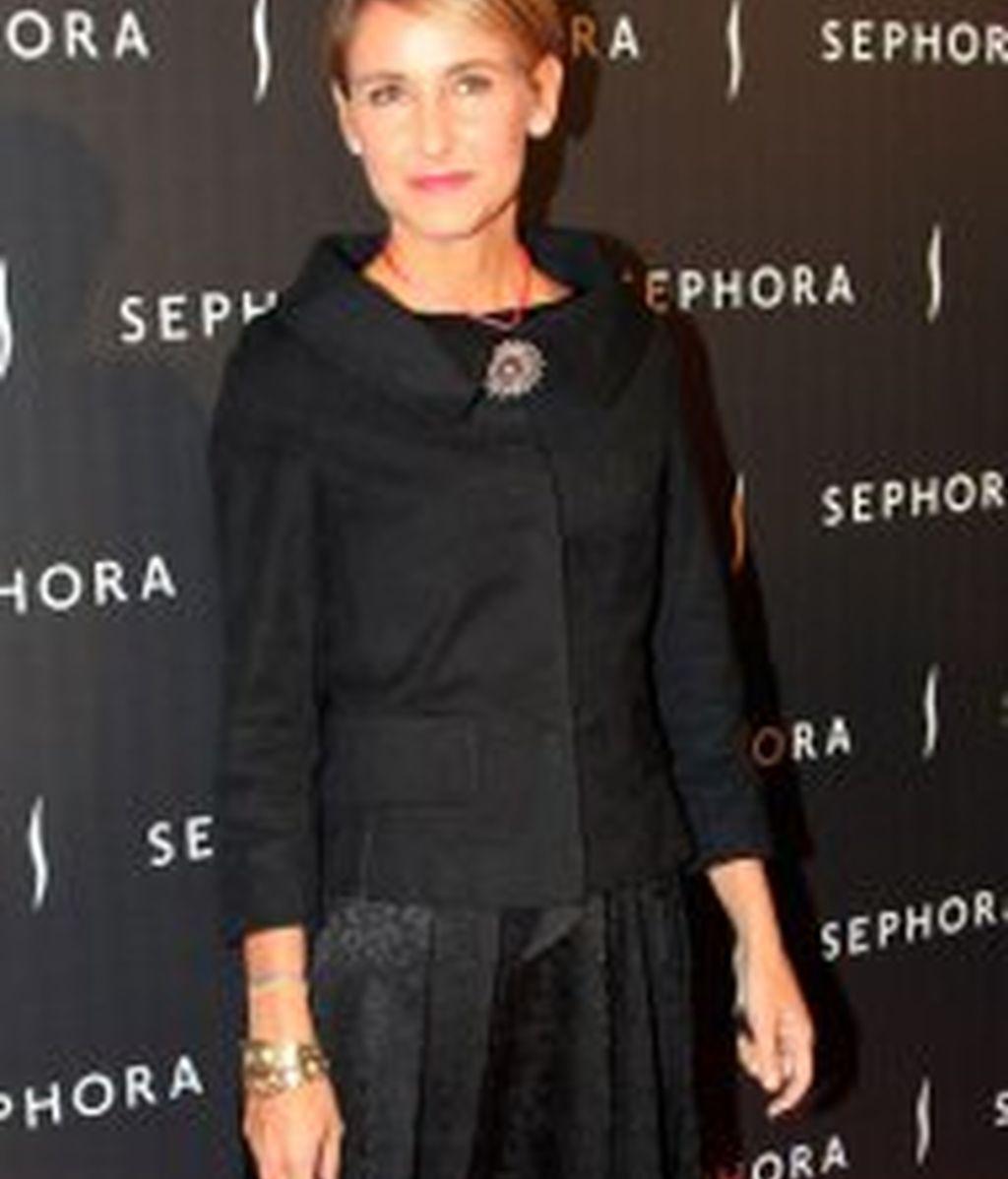 Amaia Salamanca vuelve de visita a España