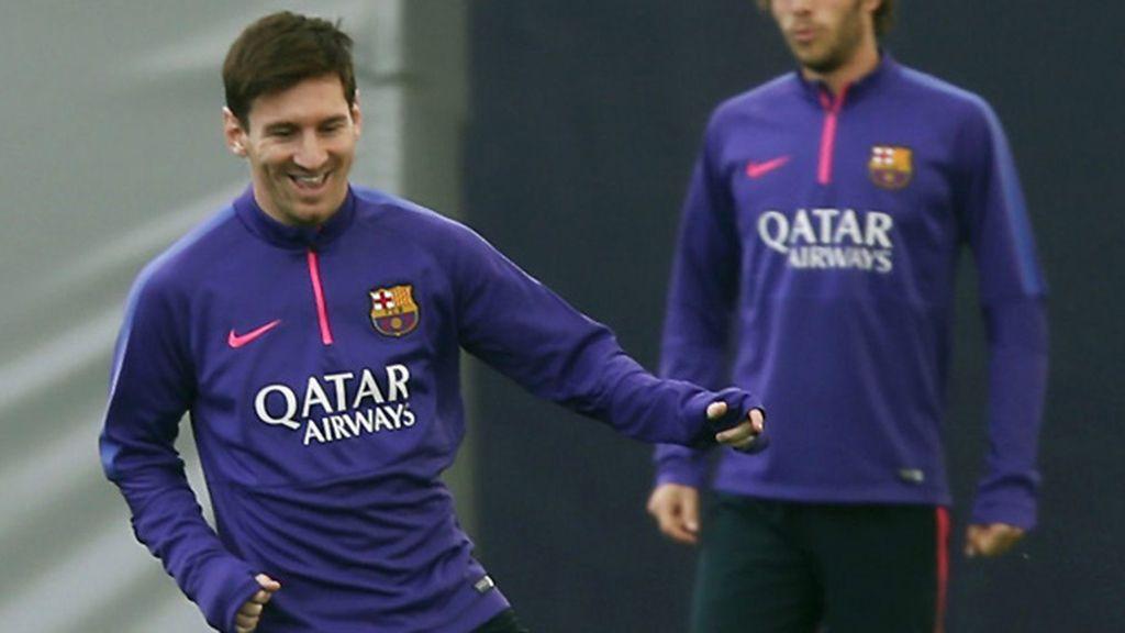Messi entra en la convocatoria ante el Celta
